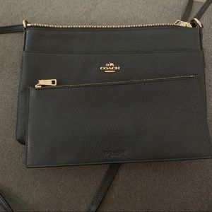 Coach Bags - Coach - Black Crossbody Purse Bag